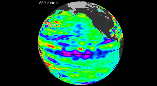 La Nina continues to strengthen in the Pacific Ocean