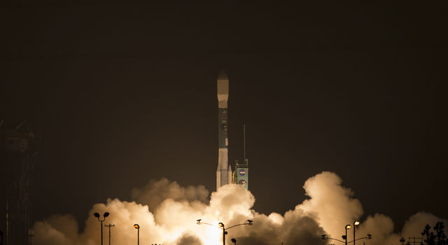 NASA's SMAP launch