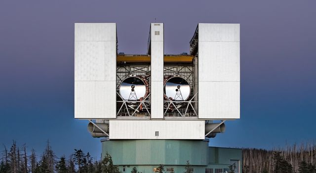 The Large Binocular Telescope Interferometer (LBTI)
