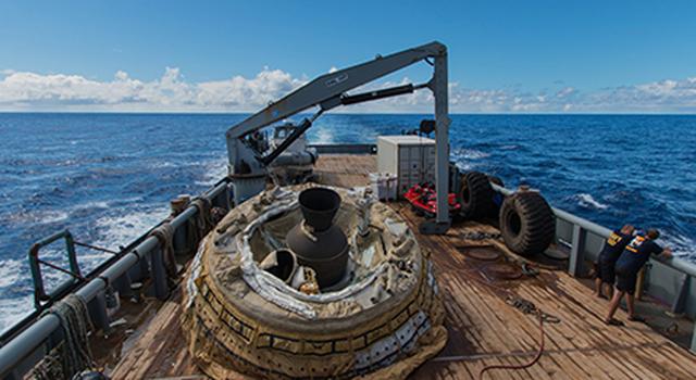 LDSD Saucer Aboard