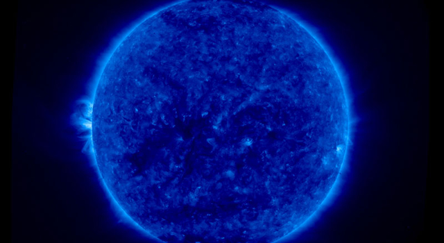 2-d full disk image of the sun by stereo