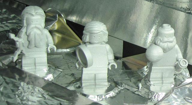 LEGO Figurines Aboard Juno