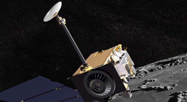 artist's concept of Lunar Reconnaissance Orbiter