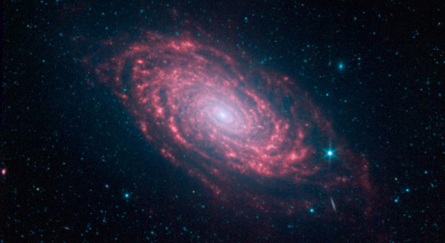 Spitzer's Sunflower Galaxy