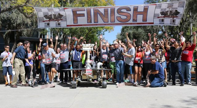 Runners at JPL are celebrating the first Martian marathon