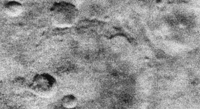 Image from Mariner 2 spacecraft