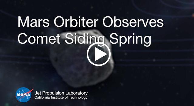 Mars Orbiter Observes Comet Siding Spring