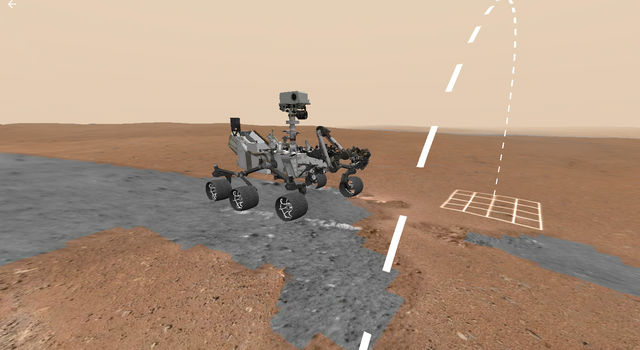 Access Mars allows any member of the public to explore the discoveries of NASA's Curiosity rover.