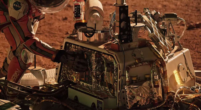 Producers of 'The Martian' turned to JPL for inspiration in bringing the story to life on screen.