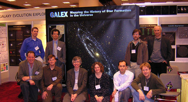 The Galaxy Evolution Explorer Team