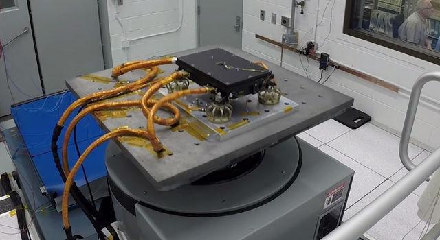 Medli2 sensors in vibration chamber