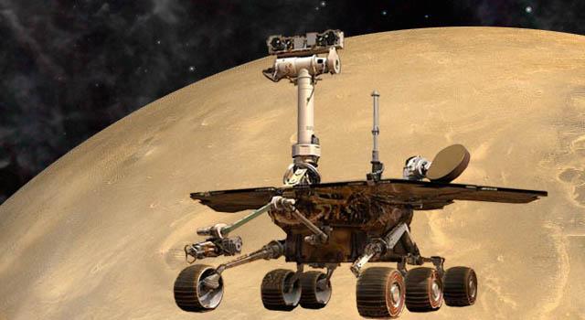 artist concept of Mars Exploration Rover