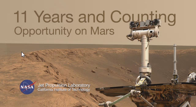 11 Years and Counting: Opportunity on Mars