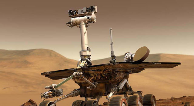 artist's concept of Mars Exploration Rover