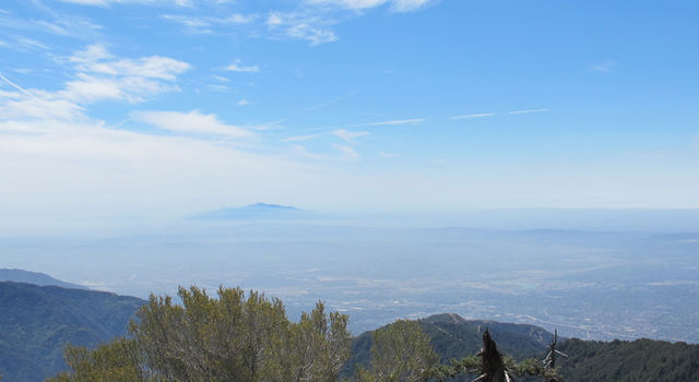 The Los Angeles basin from Mt. Wilson