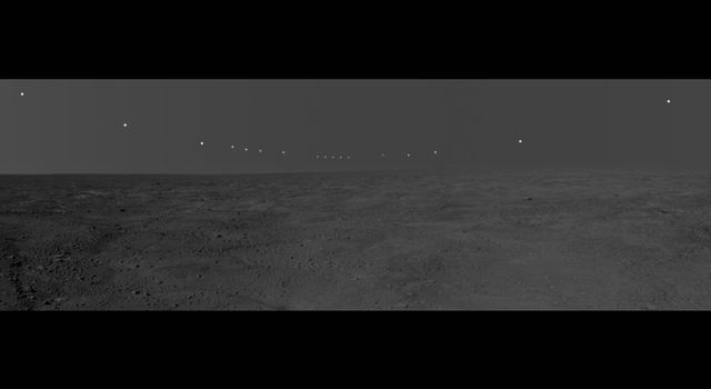 panorama image of mars
