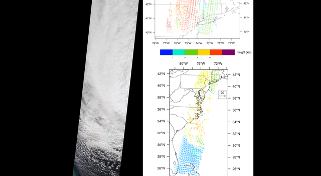 Imagery and data for Hurricane Sandy