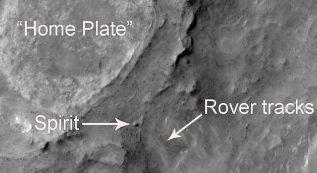 Spirit at Gusev Crater