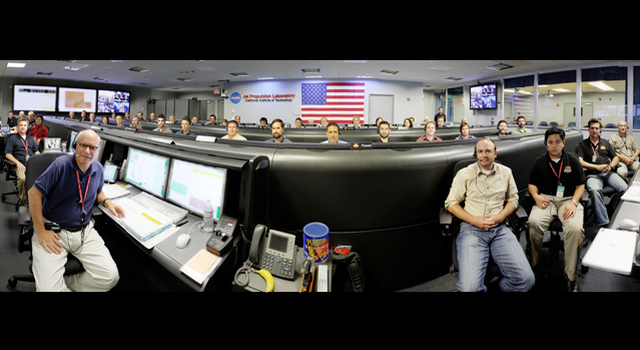 JPL's Mission Support Area (MSA), shown in this panorama