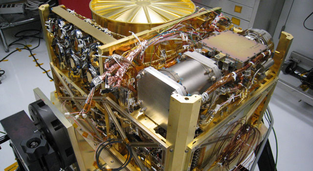 The Sample Analysis at Mars (SAM) instrument, at NASA's Goddard Space Flight Center, Greenbelt, Md.,