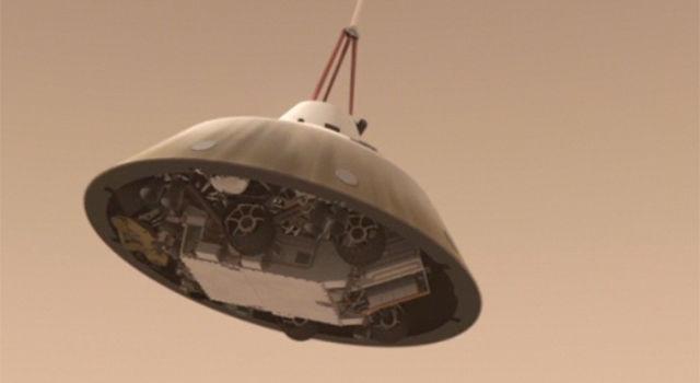 mars rover landing animation - photo #41