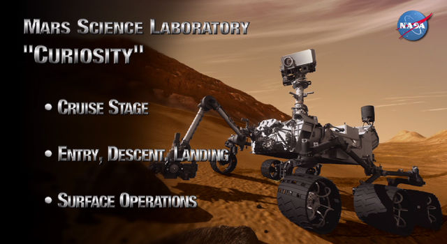 A narrated play-by-play of the key events of Curiosity's landing on Mars.