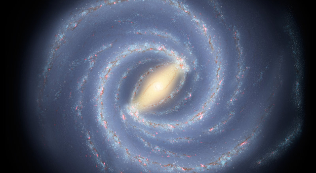 artist concept of Milky Way