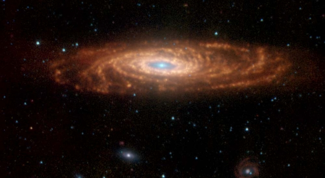 Spiral galaxy called NGC 7331