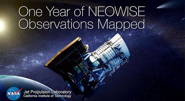 One Year of NEOWISE Observations Mapped