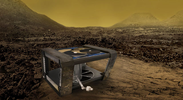 Artist's concept of JPL's AREE rover