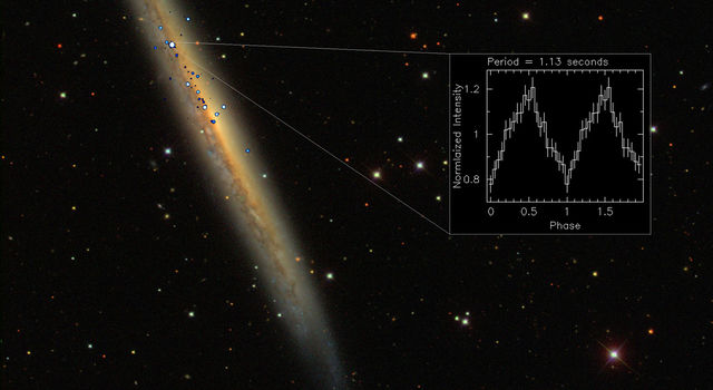 NGC 5907 ULX is the brightest pulsar ever observed.
