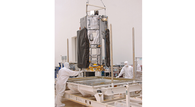 NASA's Orbiting Carbon Observatory-2 spacecraft