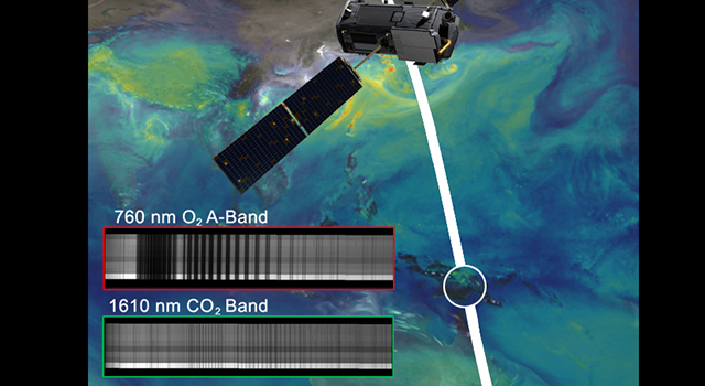 NASA's OCO-2 spacecraft collected