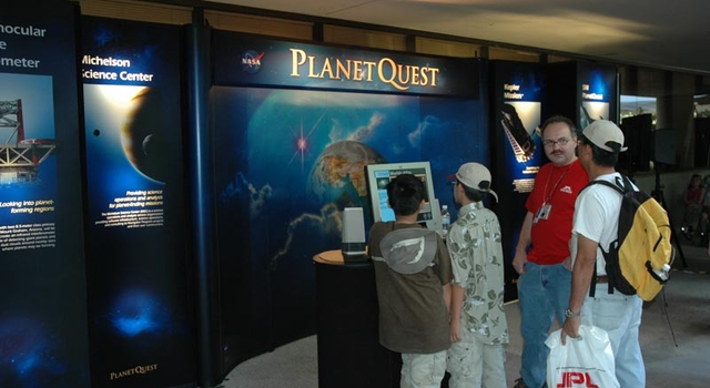 JPL openhouse event in 2005