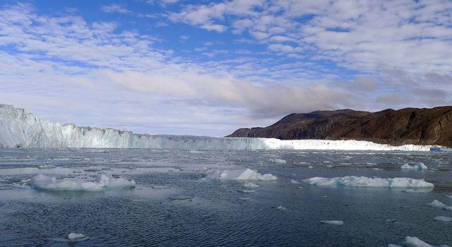 Greenland's coastal glaciers