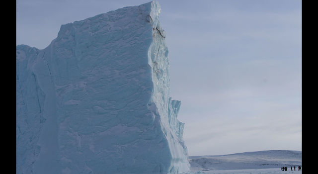 A large iceberg near Thule Air Base, Greenland