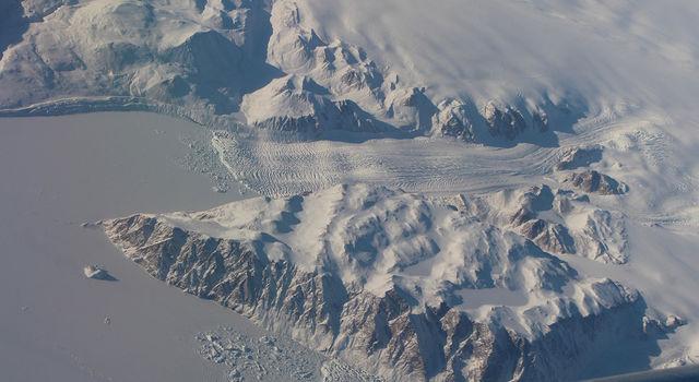 slide 3 - Greenland glacier