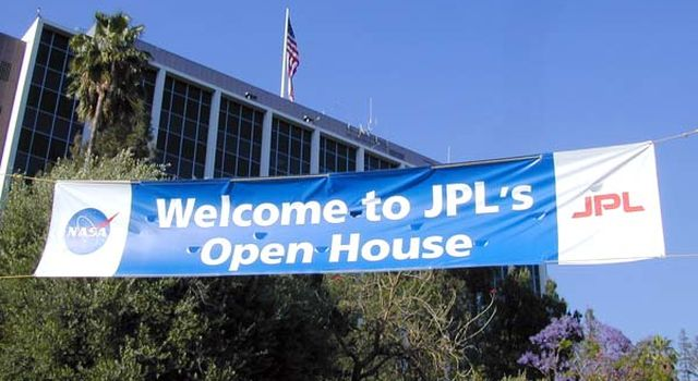 Open House welcome banner