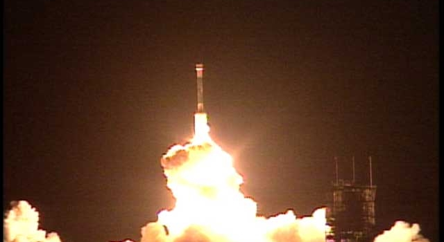 Newly Launched ''Opportunity'' Follows Mars-Bound ''Spirit''