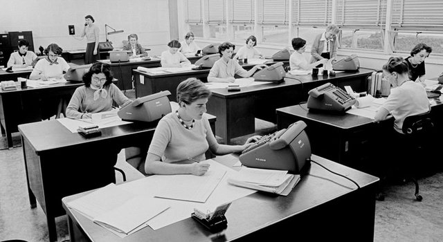 women's computing group circa 1955