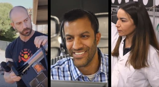 Troy Hudson, Ravi Prakash and Marleen Sundgaard