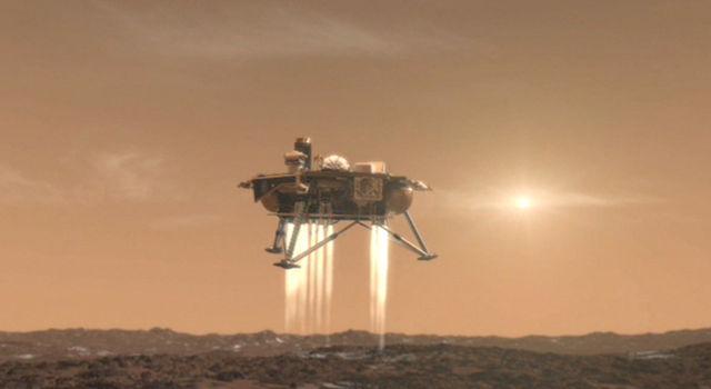 Artist concept of the Phoenix Mars Lander