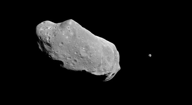 asteroid Ida and its moon