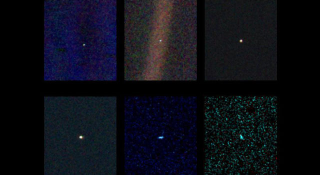 News Pale Blue Dot Images Turn 25
