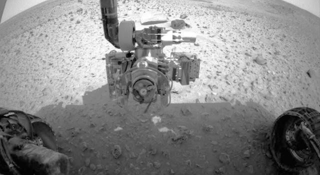 Rover with robotic arm