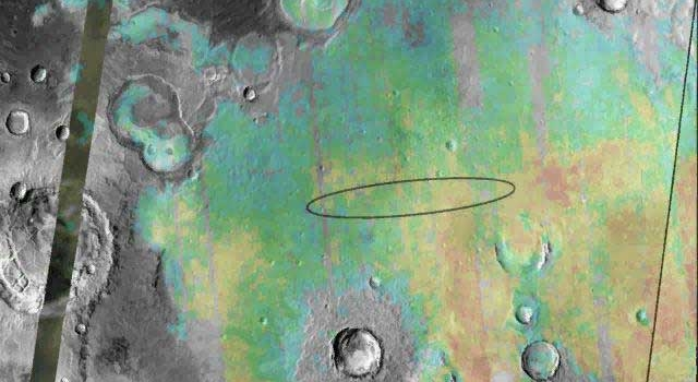 hematite present at Opportunity rover landing site