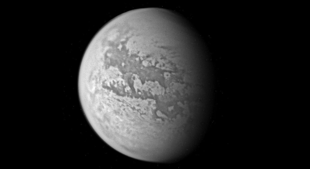 Titan, seen during Cassini's March 31 flyby