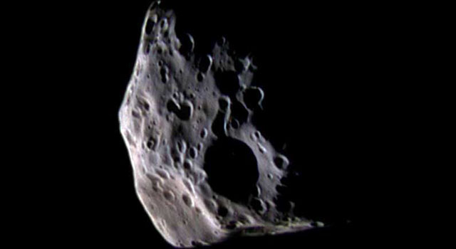 Saturn Moon Epimetheus