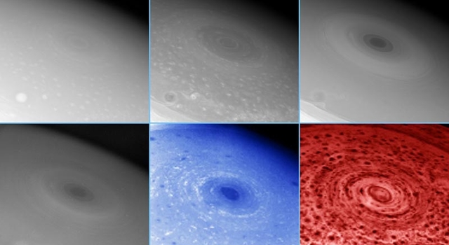 vortex seen from different wavelength