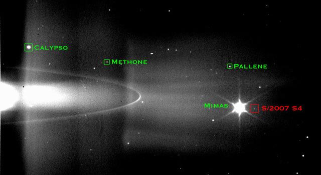 60th moon at Saturn